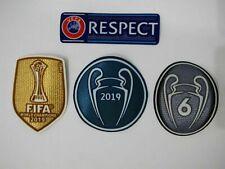 Set of Liverpool Champions league World Champions2019/20 Iron on Patch JerseyLFC