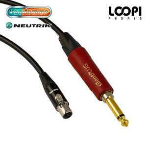 AKG WMS40 Wireless Lead - Van Damme cable w/ Neutrik Silent Jack Straight