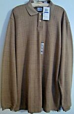 GEOFFREY BEENE MEN'S LONG SLEEVE CASUAL SHIRT SIZE XLG-BROWN-NWT-FREE SHIPPING
