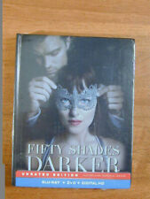 FIFTY SHADES DARKER 2017 BLU RAY + DVD + DIGIT IN SPECIAL PHOTO BOOK NEW SEALED