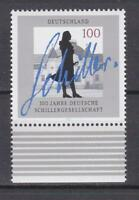 GER251 - GERMANY STAMPS 1995 CENT GERMAN SCHILLER SOCIETY MNH