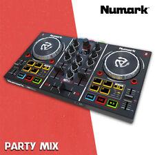 NUMARK PARTY MIX - DJ CONSOLLE 2 CANALI con Sk Audio - Garanzia Italia 2 anni