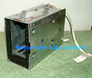 Dell PowerEdge PE 2600 Drive Cage, with 2 Slots, back plane cable- D1737 ,0D1737
