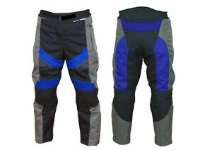 Kids motorcycle motorbike textile motocross trousers children clothing armour CE