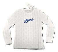 All-Sport Couture NFL Womens Detroit Lions Hail Mary Shirt NWT XS,S,M,L,XL,2XL