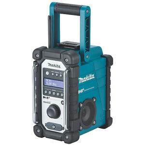 Makita Cordless Site Radio 12/18V DMR110 DAB+/FM With USB And AUX-IN
