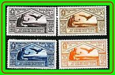 ITALY 1930 VIRGIL (airmails) SC#C23-26 MLH HR OG CV$170.00 EAGLE BIRDS