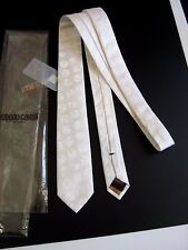 ROBERTO CAVALLI Slim NUOVA NEW  CERIMONIA CEREMONY SETA SILK MADE IN ITALY
