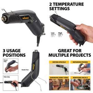 Wagner Redesigned HT400 Heat Gun, Versatile Home Use Hot HT400, Basic pack