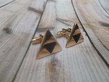 CL524 The Legend of Zelda Triforce Cufflinks Cuff Links Great Gifts Christmas **