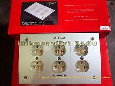 Original FURUTECH e-TP60 AC Power Distributor HIFI gold plated us socket bar