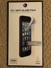 Belkin Ez Frame Iris Anti-glare Film with Easy Install Frame for Iphone 5/5s SE
