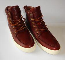 NEW Polo Ralph Lauren Mens Tavis Hi Top Leather Sneaker Boots Size 14 D (M)