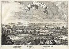 LÜGDE - GESAMTANSICHT - de Hooghe - Kupferstich 1672