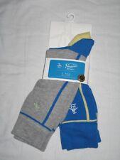 Original Penguin Mens Socks Grey Bright Blue 2 Pairs