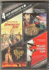 Country Western Collection DVD Honeysuckle Rose Macon County Line + 2  BRAND NEW