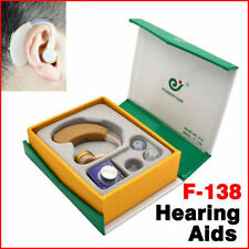 Adjustable Digital Hearing Aid Aids Kit Behind the Ear BTE Sound Voice Amplifier