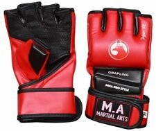 MMA Gloves Grappling Punching Bag Training Boxing Martial Arts Sparring