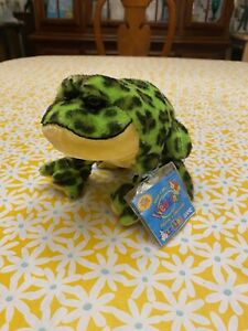 Ganz Retired Webkinz Lil Kinz Bull Frog With Unused Code HS114
