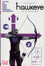HAWKEYE Hardcover HC  Matt Fraction & Jeff Lemire SEALED/NM $35 Cover 272 pages
