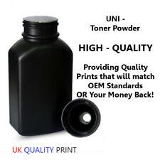 BLACK Toner Powder Refill 250 grams for HP MONO Toner Cartridges monochrome