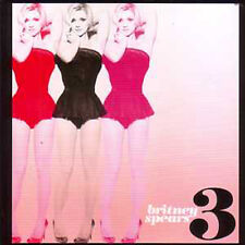 "★ CD SINGLE Britney SPEARS  ""3"" 3-track CARD SLEEVE  RARE Donni Hotwheel Megamix"