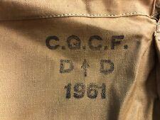 Australian Army Personnel Laundry Bag Dated 1961 - Vietnam War x 2