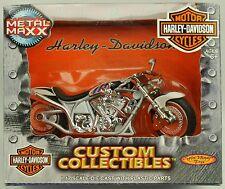 Harley Davidson Metal Maxx FXSTD FSXTDI SOFTAIL DEUCE Custom Diecast Model 1:17
