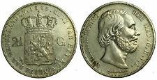 Netherlands - 2½ Gulden 1865