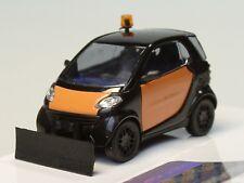 Busch Smart City Coupe schwarz/orange mit Schneeschieber - 46169 - 1:87