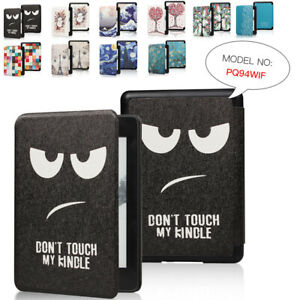 For Amazon 2018 Kindle Paperwhite4 10th Painted Leather Flip Magnetic Case Cover