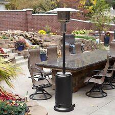 Mocha Commercial Restaurant Outdoor Patio Heater LP Propane Deck Tall Gas BTU