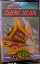 DARK STAR C 64 cassette (TAPE) (Game, imballaggio, Manual)