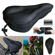 Bike EXTRA Comfort Soft Gel Pad Comfy Cushion Saddle Seat Cover Bicycle Cycle UK