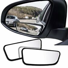 Zento Deals 2 Pack Stick-On Square All Weather Blind Spot Mirrors