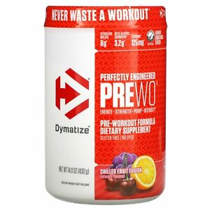 Dymatize Nutrition, Perfectly Engineered Pre WO, Pre-Workout Formula, Chilled
