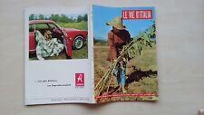 LE VIE D'ITALIA TCI 1956  N°10 RIFREDDO SCANDIANO ALIANO MARANELLO FERRARI 5/17