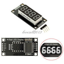 "0.36"" inch White TM1637 4-Bits Digital LED Clock Tube Display for Arduino LO"