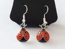 Rockabilly Ladybird / Ladybug Earrings, Kitsch 50s, Retro. Pinup / Pin Up Kawaii