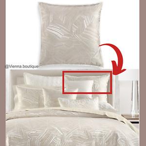New $120 Hotel Collection Alabastar (1) Euro European Sham Pillow Case #403