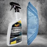 Meguiars Ultimate Wash & Wax Anywhere 769ml G3626 + Microfasertuch