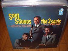 3 THREE SOULS / SONNY COX soul sounds ( jazz ) cadet mono