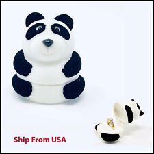 Ring Box   wedding proposal box   Panda Ring jewelry Box 🐼