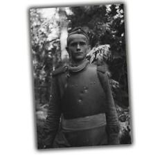 "War Photo The story of one picture. Soviet soldier in a cuirass WW2 Size 4x6"" I"