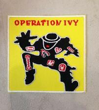 OPERATION IVY EMBROIDERED IRON ON PATCH BY TOXIC TOAST RECORDS