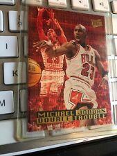 Michael Jordan 1995-96 Ultra Fleer Air Chicago Bulls NBA Double Trouble Card