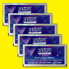 Crest 3D White Luxe Professional Whitening Effects 5 Pouches 10 Strips TRACKING