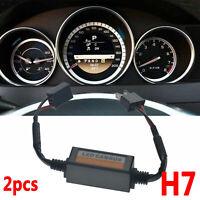 2pcs H7 Car LED Scheinwerfer Decoder Canbus Fehler freien Widerstand Canceller