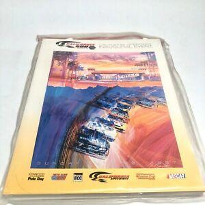 California 500 Inaugural 1997 NASCAR Race Program Package