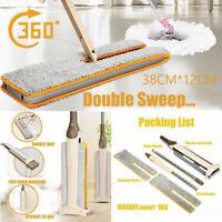 Double-Side Flat Mop Hands-Free Waschbar Mop Floor Home Reinigung Tool Lazy m..
